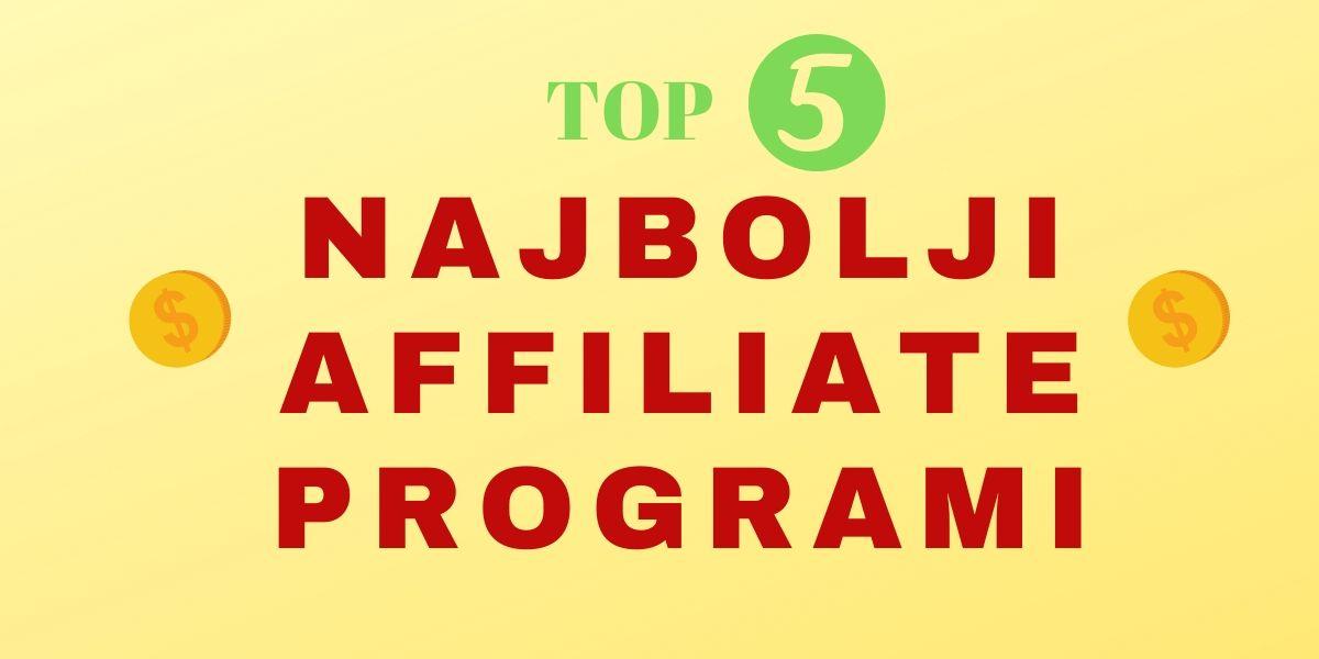 najbolji affiliate programi