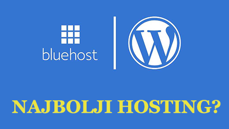 bluehost, najbolji web hosting za pocetnike, wordpress