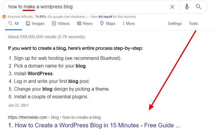 google pretraživanje, search intent, namjera pretraživanja